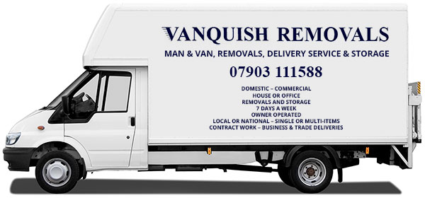 man and van wandsworth - vanquish removals
